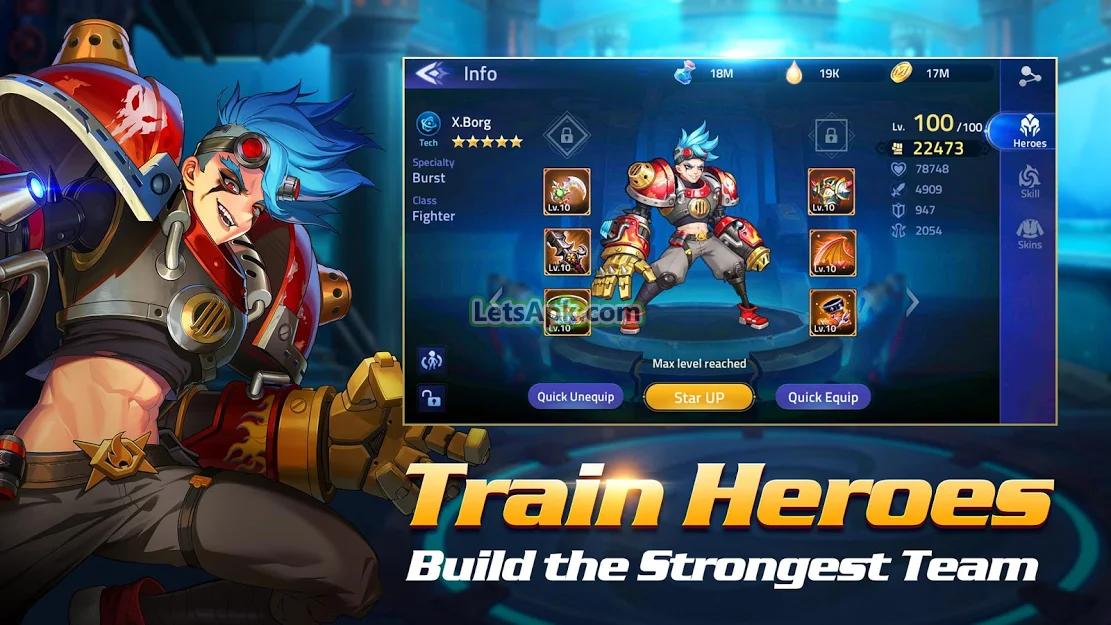 mobile legends adventure mod apk