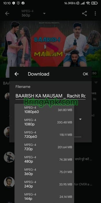 UcMate YouTube Video Downloader is an app for downloading videos from YouTube And other famous social media websites Like Instagram Facebook TikTok SoundCloud Vine Whatsapp Twitter and Vimeo.