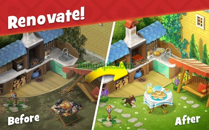 gardenscapes 4.6.0 apk free download
